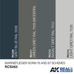AK Interactive Real Color Set - Marineflieger Norm76 und 87