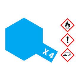 TAMIYA TAMIYA - X-4 BLAU glänzend 23 ml