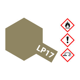 TAMIYA TAMIYA - LP-17 Linoleum Braun (Dkl.)10ml
