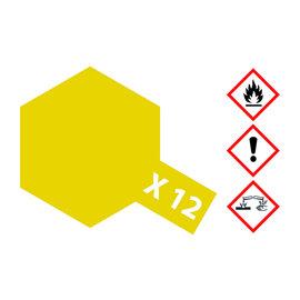 TAMIYA TAMIYA - X-12 Blatt-Gold glänzend 23 ml
