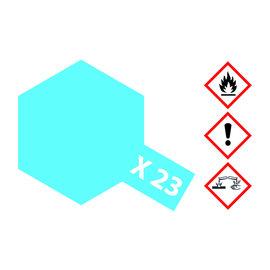 TAMIYA TAMIYA - X-23 Klar-Blau glänzend 23ml