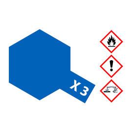 TAMIYA TAMIYA - X-3 Königsblau glänzend 23 ml