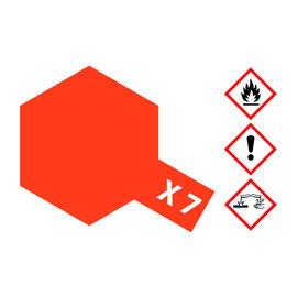 TAMIYA TAMIYA - X-7 Rot glänzend 23 ml