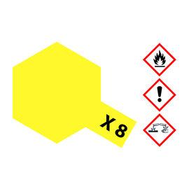 TAMIYA TAMIYA - X-8 ZITRONEN-GELB glänzend 23 ml