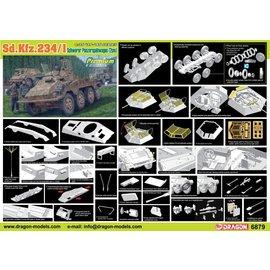 Dragon Dragon - Sd.Kfz.234/1 schwerer Panzerspähwagen (2cm) Premium Edition - 1:35