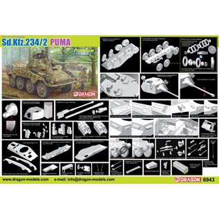 Dragon Panzerspähwagen Sd.Kfz.234/2 Puma (Premium Edition) - 1:35