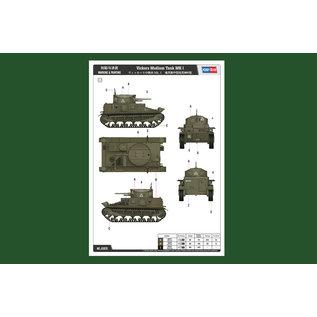 HobbyBoss Vickers Medium Tank MK I - 1:35
