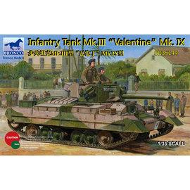 Bronco Models Bronco Models - Infantry Tank Mk.III Valentine Mk.IX - 1:35