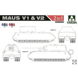 "TAKOM TAKOM - Panzerkampfwagen VIII ""Maus"" V1 & V2 - 1:35"