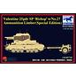 """Bronco Models Valentine 25pdr SP """"Bishop"""" w/No.27 Ammunition Limber - 1:35"""