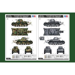 HobbyBoss French R39 Light Infantry Tank - 1:35