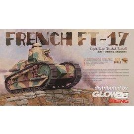 MENG MENG - French FT-17 Light Tank (Riveted Turret) - 1:35