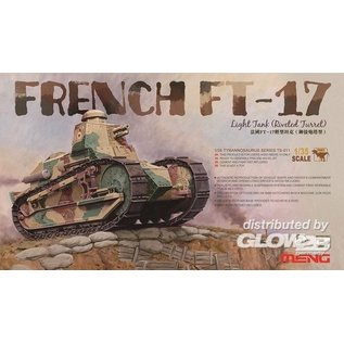 MENG French FT-17 Light Tank (Riveted Turret) - 1:35