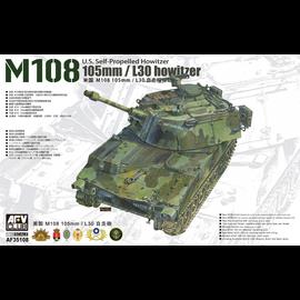AFV-Club AFV-Club - M108 105mm/L30 Howitzer - 1:35