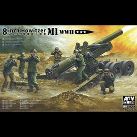 AFV-Club AFV-Club - M1 WWII 8inch Howitzer - 1:35