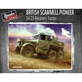 "Thunder Model Thunder Model - British SV/2S ""Scammell"" Pioneer Recovery Vehicle - 1:35"