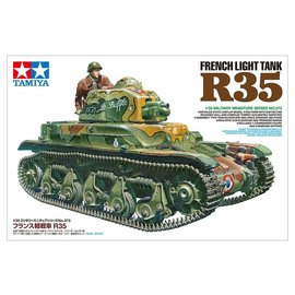 TAMIYA Tamiya - Renault R-35 French light tank - 1:35