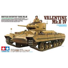 """TAMIYA Tamiya - British Infantry Tank Mk.III """"Valentine"""" Mk.II/IV - 1:35"""
