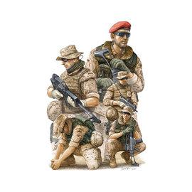 Trumpeter Trumpeter - Modern German ISAF Soldiers in Afghanistan - 1:35