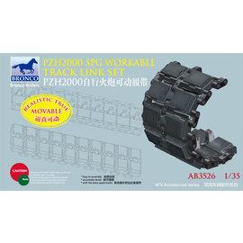 Bronco Models Bronco Models - German 155mm SPz2000 Workable Track Link Set - 1:35