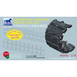 Bronco Models German 155mm SPz2000 Workable Track Link Set - 1:35