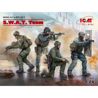 ICM S.W.A.T. Team - 1:24