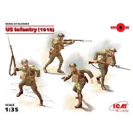 ICM ICM - WWI US Infantry (1918) - 1:35