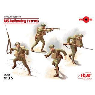 ICM WWI US Infantry (1918) - 1:35