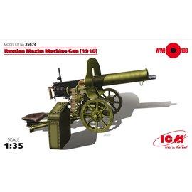ICM ICM - Russian Maxim Machine Gun (1910) - 1:35