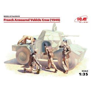 ICM French Armoured Vehicle Crew (1940) - 1:35