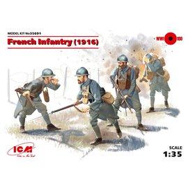 ICM ICM - WWI French Infantry (1916) - 1:35