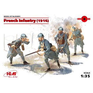 ICM WWI French Infantry (1916) - 1:35