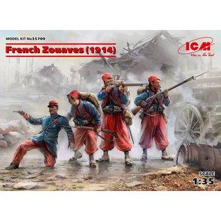 ICM WWI French Zouaves (1914) - 1:35