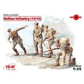 ICM ICM - WWI Italian Infantry (1915) - 1:35