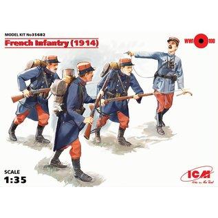ICM WWI French Infantry (1914) - 1:35