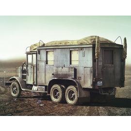 ICM ICM - Krupp L3H163 Funkhorchkraftwagen (Kfz. 72) - 1:35