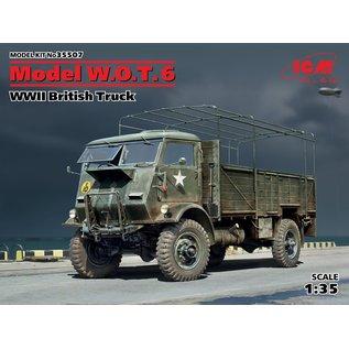 ICM British W.O.T. 6 Truck - 1:35