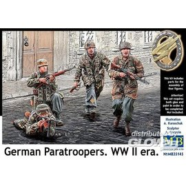 Master Box MB - German Paratroopers, WWII era - 1:35