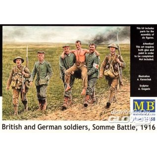 Master Box British and German soldiers, Somme Battle WWI - 1:35