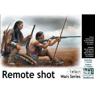 Master Box Indian Wars Series, Remote Shot - 1:35