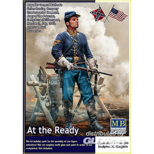 """Master Box """"At the Ready"""" Brigadier General Bufford's Union Cavalry - 1:35"""
