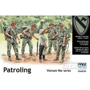 Master Box Patroling, Vietnam - 1:35