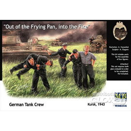 Master Box Master Box - German Tank Crew Kursk 1943 - 1:35