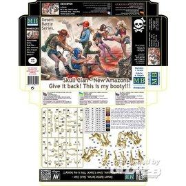 Master Box MB - Desert Battle Series, Skull Clan  -New Amazons - 1:35