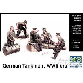 Master Box Master Box - German Tankmen, WWII era - 1:35