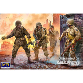Master Box MB - US Paratroopers, Europe, 1944-1945 - 1:35