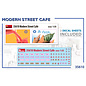 MiniArt Modern Street Café - 1:35