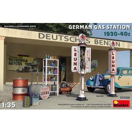 MiniArt MiniArt - Deutsche Tankstelle der 1930er und 1940er Jahre - 1:35