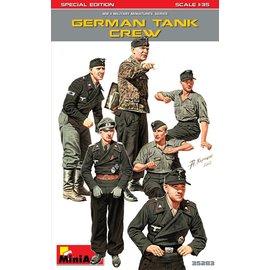 MiniArt MiniArt - Wehrmacht Panzerbesatzung (Spezial Edition) - 1:35