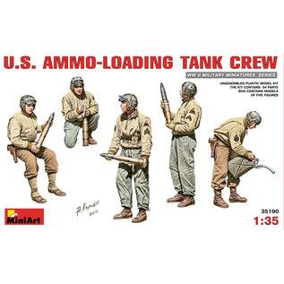 MiniArt U.S. Ammo loading tank crew - 1:35